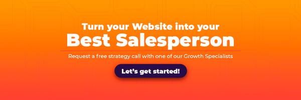 Sales Optimized Website